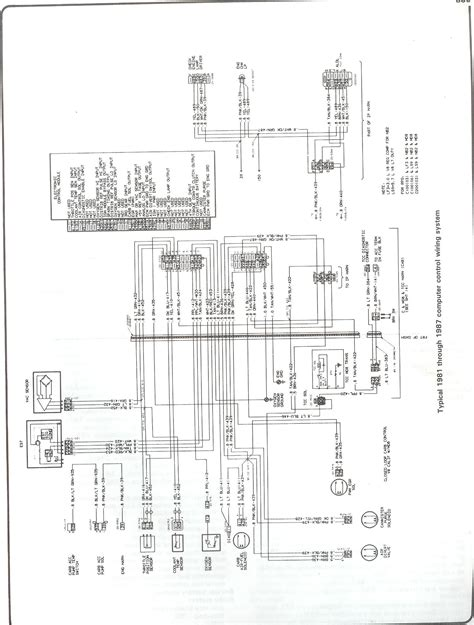1983 chevy silverado wiring diagram wiring diagrams
