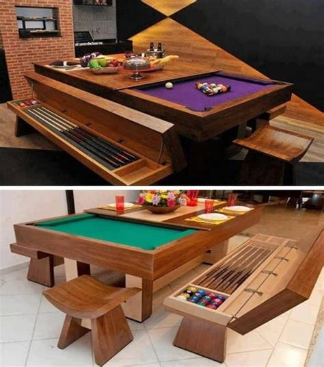 cool pool tables 9 coolest tables you ll want in your dinning room or backyard architecture design