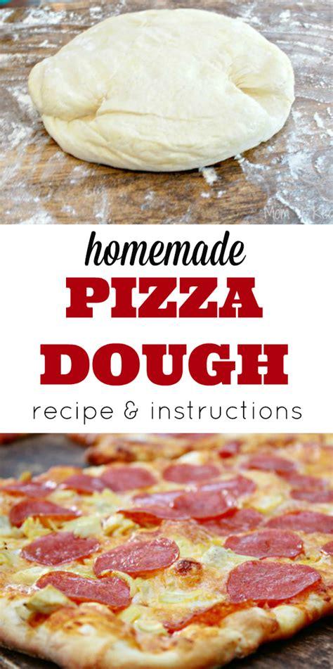 Handmade Pizza Dough Recipe - pizza dough recipe 4 real