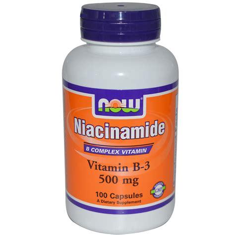Niacinamide Detox by Iherb Customer Reviews Now Foods Niacinamide 500