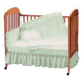 Eyelet Crib Bedding Mint Eyelet Crib Bedding Set By Baby Doll