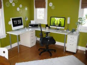 How To Decorate A Home Office On A Budget Ikea Home Office Ideas