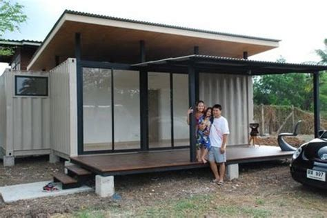 family home in a shipping container can you make it work neat little shipping container prefab built in bangkok