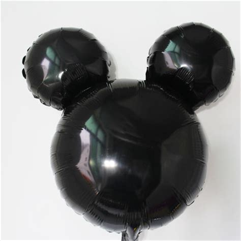 New 18 inch mickey mouse head shaped foil balloons mickey mouse ears balloons for sale on