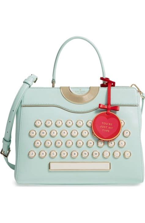 Be Unique With Williams Custom Handbags by Kate Spade Be Mine Typewriter Satchel Janet Carr