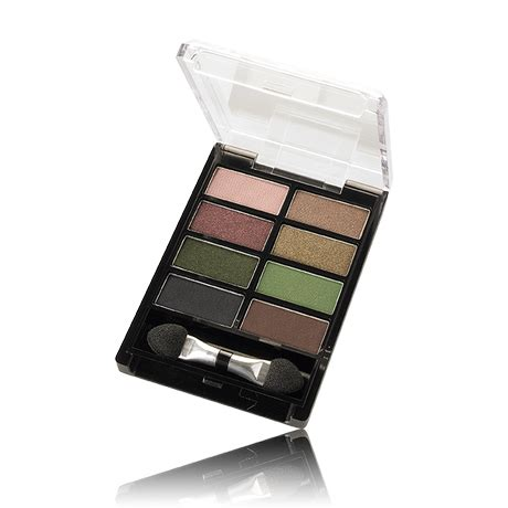 oriflame colour eye shadow palette in sand green review swatches paperblog