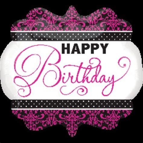 Balon Foil Hbd Gelas Pink birthday foil shape balloons supplies perth