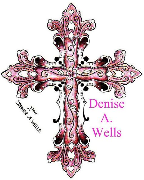 63 gorgeous cross tattoo designs 2011 cross by a by a