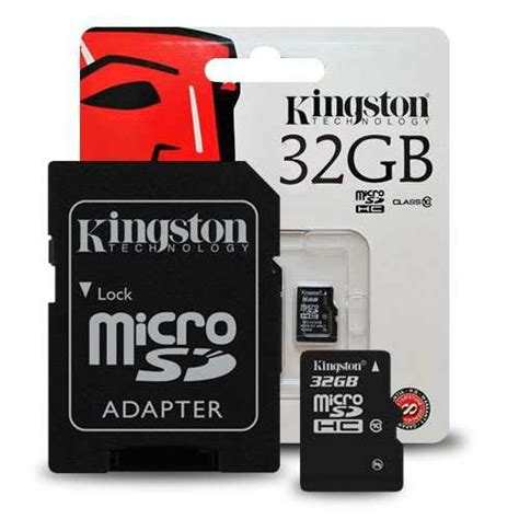Micro Sd 32gb Lazada kingston micro sd 32gb class10 sdc10 32gb with adapter