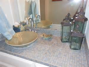17 best images about tile bathroom countertop on