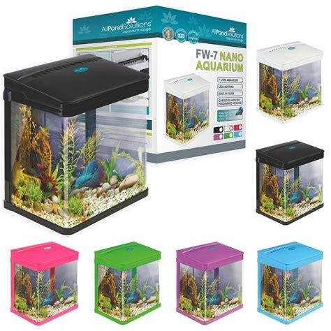 small fish tank light small nano aquarium fish tank coldwater tropical led