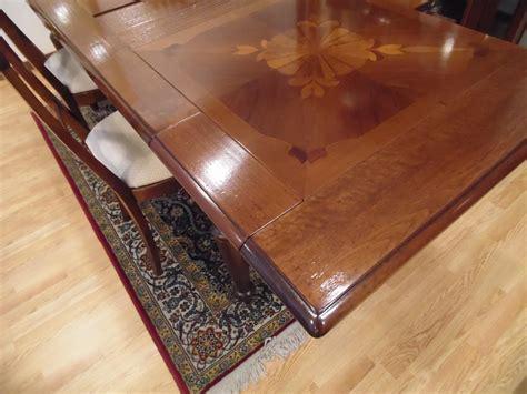 tavolo le fablier tavolo e 4 sedie le fablier i lauri rettangolare