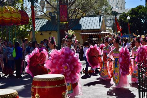 new year parade lunar new year at disney california adventure