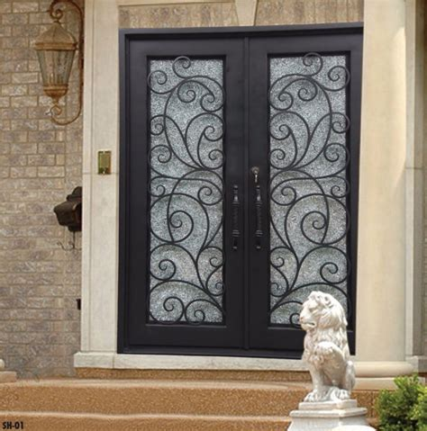 Contemporary Home Design Ideas wrought iron entry doors home ideas collection best