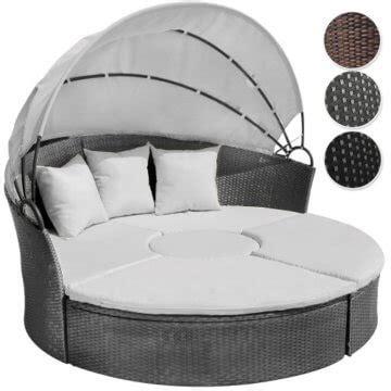 lounge gartenmöbel mit dach und tisch li il garten lounge runde polyrattan lounge sonneninsel
