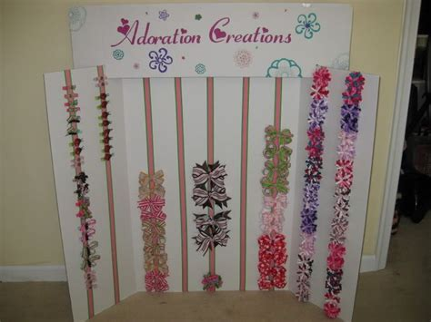 craft show display hip girl boutique llc free hair bow my display board hip girl boutique free hair bow