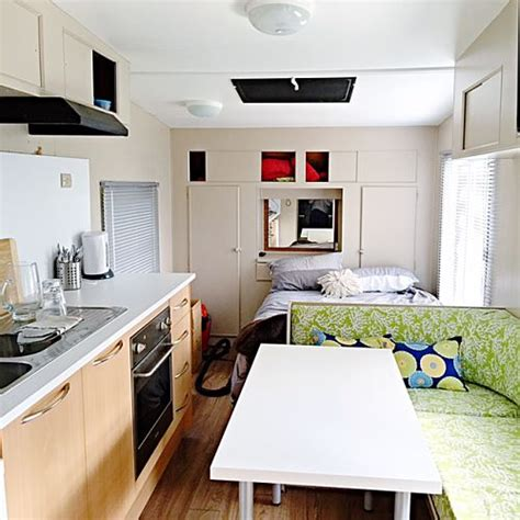 Tiny Kitchen Makeover - our caravan makeover the stylist splash