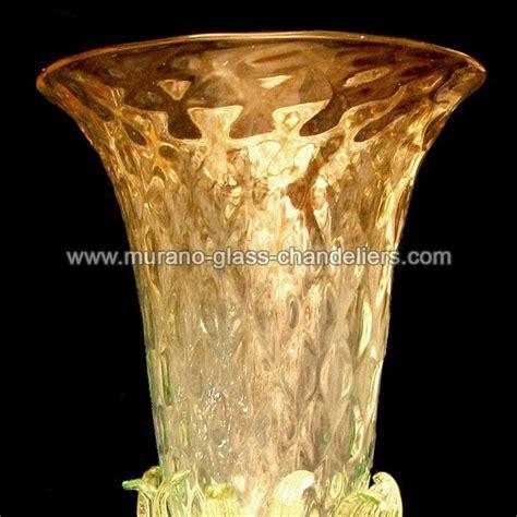 girasoli in vaso quot girasoli quot vaso en cristal de murano murano glass