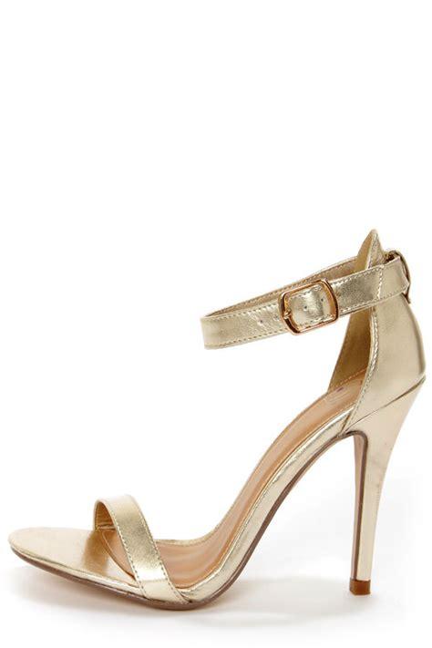 light gold high heels my delicious chacha light gold metallic single high
