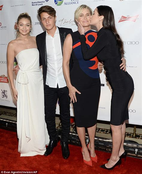 pictures of yolana foster in her early years yolanda foster makes first red carpet appearance after