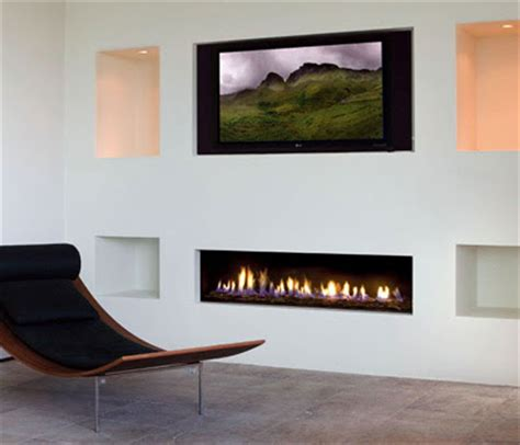 Shallow Gas Fireplace by Modern Design Modern Design Gas Fireplaces Ideas