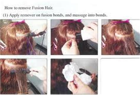 removal of hair extensions glue remover fusion hair extensions
