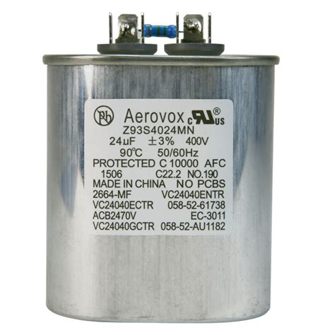 aerovox hid capacitors hid lighting capacitor 400vac aerovox z93s4024mn