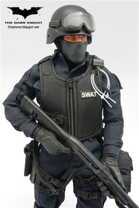 Tshirtkaosbaju Swat Gotham City toys quot the quot 1 6 gotham city department s w a t team member robert downey