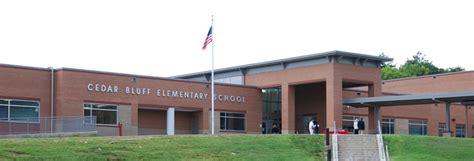 Cedar Bluff Post Office by County Schools