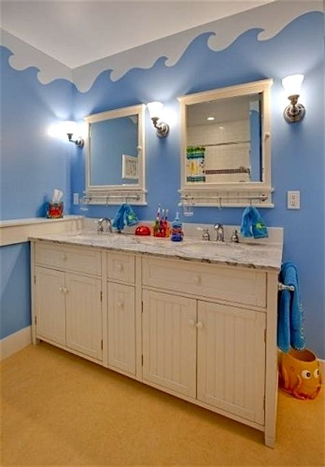 water themed bathroom kids bathroom walls gone quot artsy quot kidspace interiors