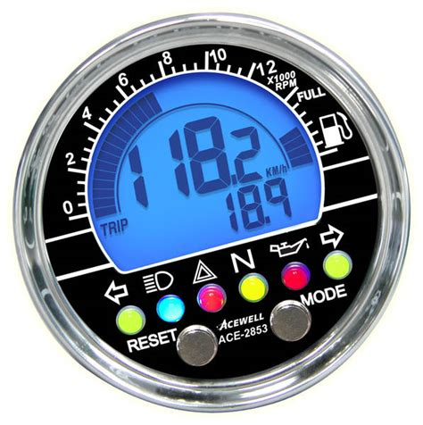 Motorrad Classic Erscheinungsdatum by Classic Acewell Acewell Digitale Tachometer F 252 R Ihr