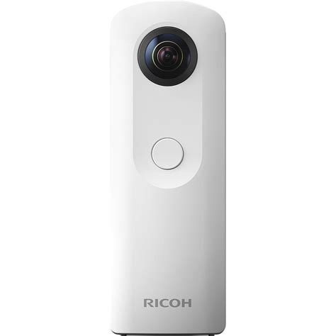 ricoh theta sc spherical digital white 910740 b h