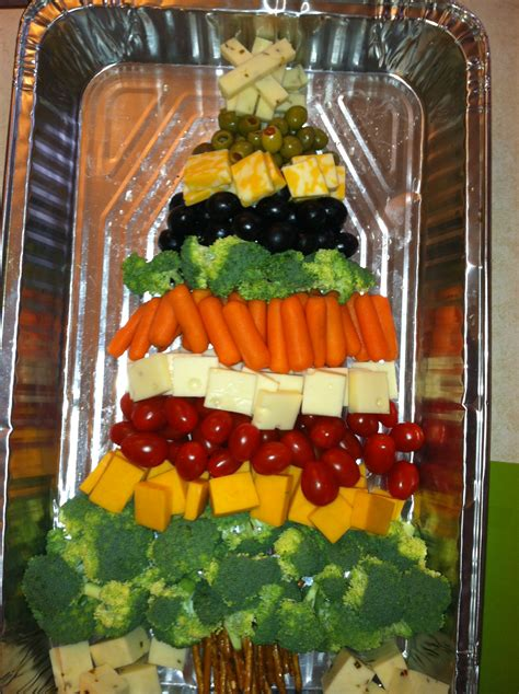 christmas tree relish tray tree appetizer tray budget epicurean
