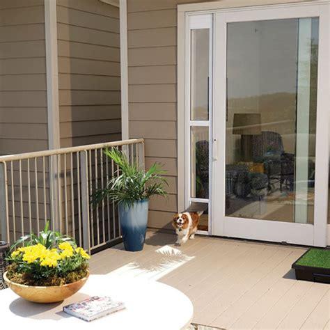 Petsafe Patio Door Shop For Sliding Glass Pet Door For Frames Up To 81 Quot By Petsafe Grp Sgpd