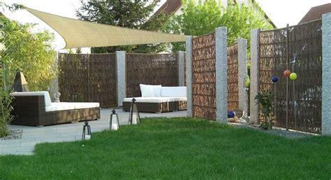 garten und terrassenmöbel kies gartengestaltung gestalten ideen mit gartengrenze