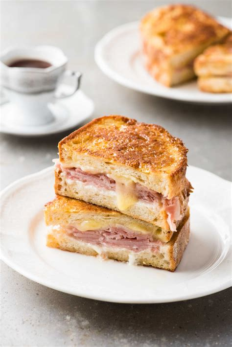Toast Sandwich Monte Cristo Ham Cheese Toast Sandwich