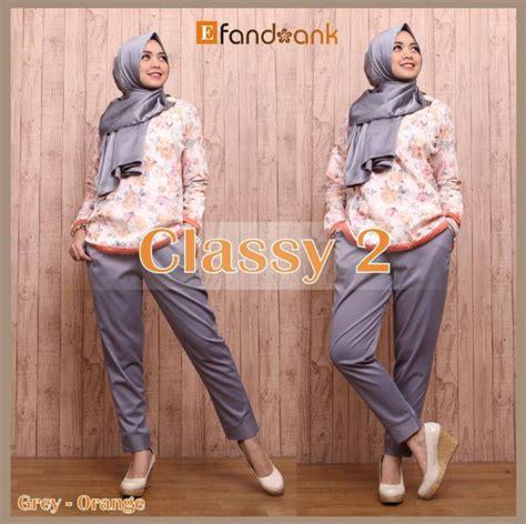Baju Gaul Wanita 2016 Contoh Foto Baju Muslim Modern Terbaru 2016 Trend Fashion