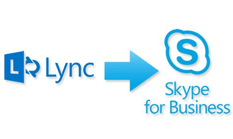 lync is now skype for business information technology