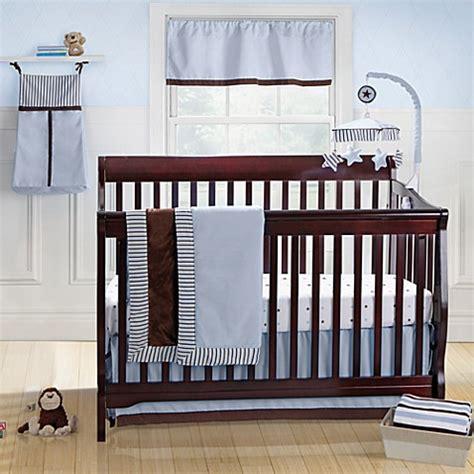 Banana Fish Crib Bedding Brandon Blue 3 Crib Bedding Set From Banana Fish From Buy Buy Baby
