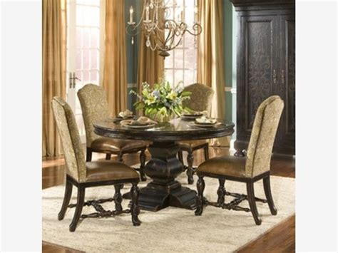 aspen dining room table cabin stuff pinterest ambella home aspen round dining table 54 in home and