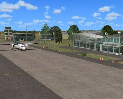 plymouth airport new plymouth airport scenery for fsx