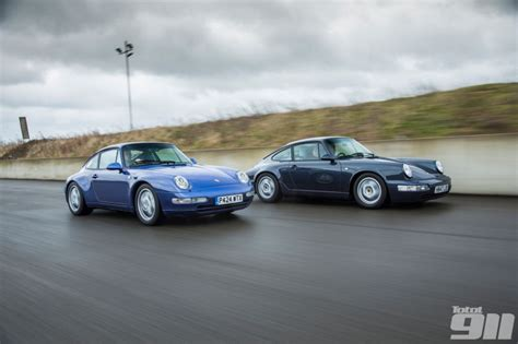 porsche 964 vs 993 k roll s porsche 911 generational comparison 993 vs 964