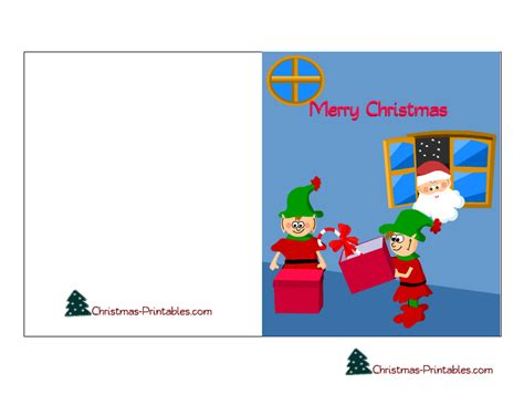 Free Printable Christmas Card Templates For Kids Fun For Christmas Card Templates For Children