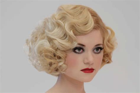 pin curls on a bob 1930s fingerwave pin curl set bob quot spellbound quot dvd cover