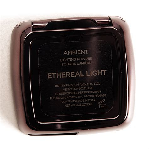 ambient lighting powder review hourglass ethereal light ambient lighting powder review