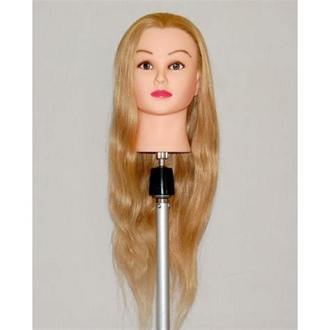 Human Hair Mannequin Heads by 30 Quot Cosmetology Mannequin With Human Hair