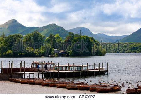 boat sales cumbria uk boats moored at keswick derwent water lake district