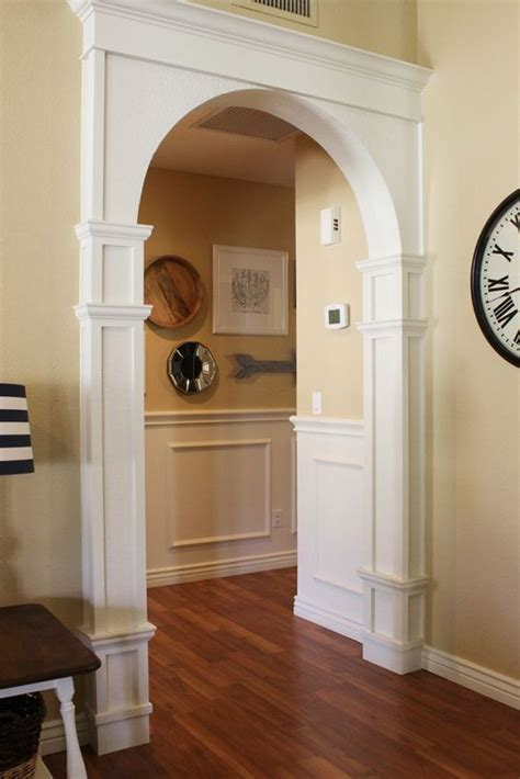 interior arch designs for home diy arch moulding tutorial quot diy home decor ideas