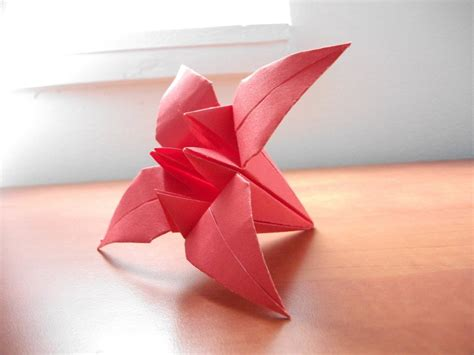 Origami Lilly - origami by komplexgyok on deviantart