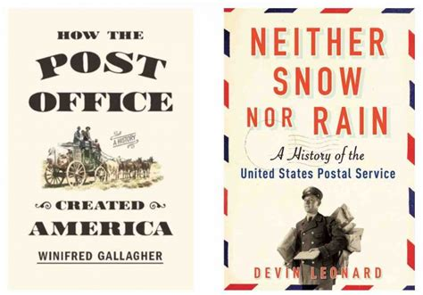 Post Office Book by Usps Vs Congress And Two New Books About The History Of